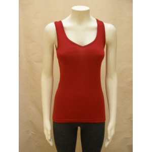 sleeveless vest with V-neck